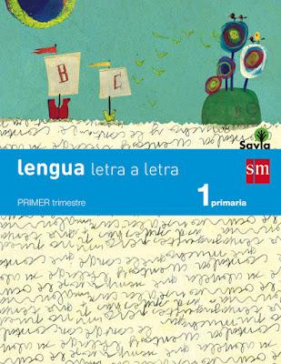 LIBRO DE TEXTO - Lengua: letra a letra. 1 Primaria. Savia  ISBN: 9788467567908  COMPRAR ESTE LIBRO