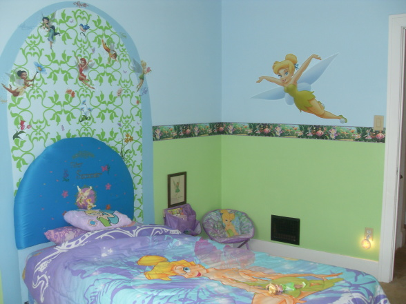 Home Decoration: Tinkerbell Bedroom Decorations