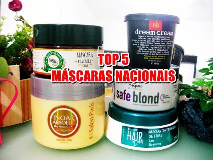 Top 5: Máscaras nacionais para tratamento em casa