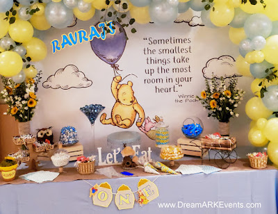 Winnie The Pooh Candy Table Decoration