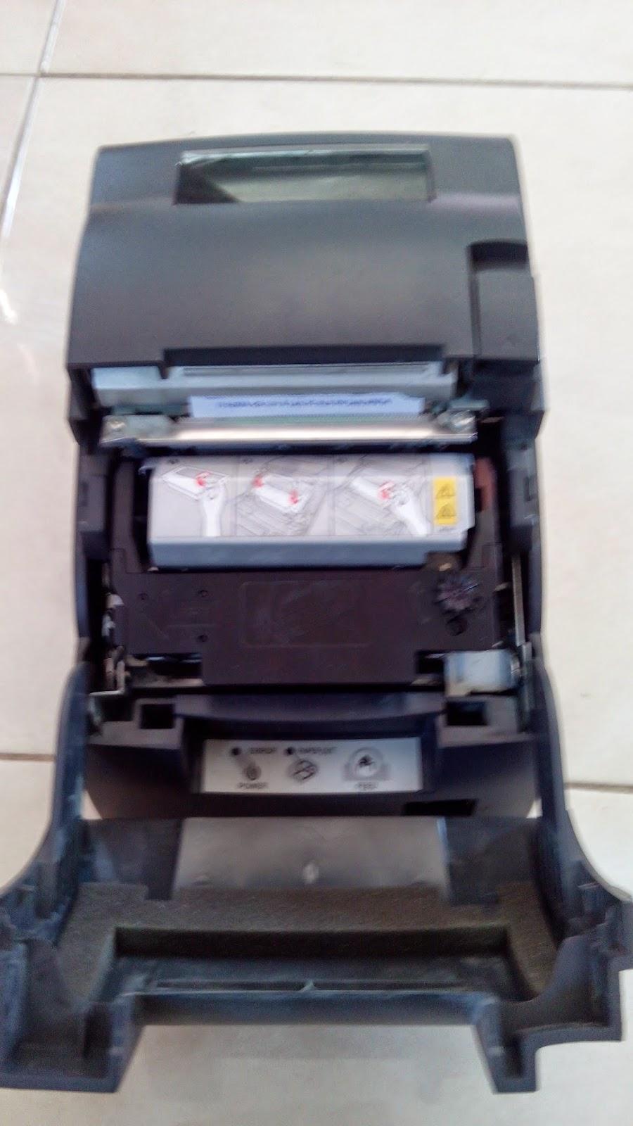 Cara ganti RDA pemutar pita printer kasir