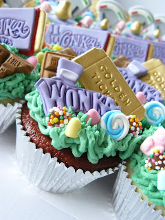 willy wonka cup cakes