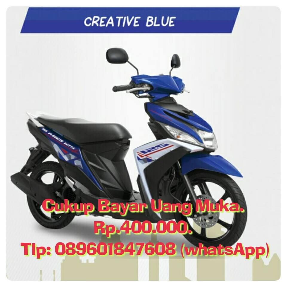 Info Seputar Kredit Motor Dan Gadai Bpkb All New Beat Sporty Esp Cbs Iss Soul Red White Tegal Pilihan Warna Yamaha Mio M3 125 Bluecore