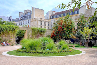 Paris : Le jardin Anne Frank, îlot de verdure méconnu - IIIème