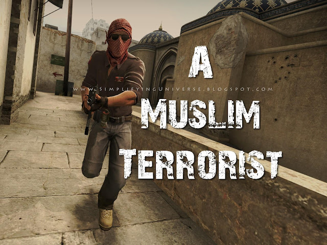 muslim terrorist man holding gun, counter strike, manas madrecha quotes, thriller story to read online, simplifying universe. mumbai self-help blog