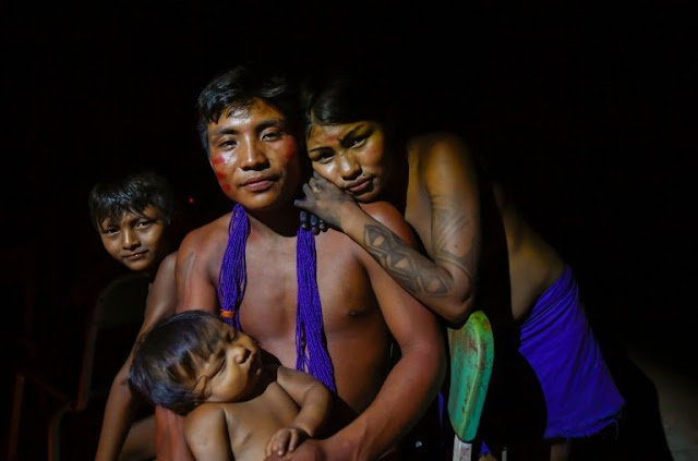 A chance Amazon encounter, then a tribe's near extinction