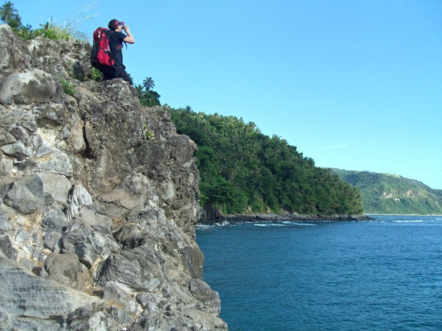 At the Top of Bugsukan Cliff