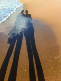 largo de la sombra predice riesgo quemadura solar