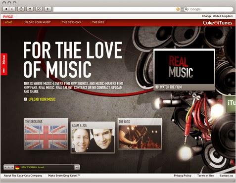 William Cookson - Graphic Design - Coke Tunes