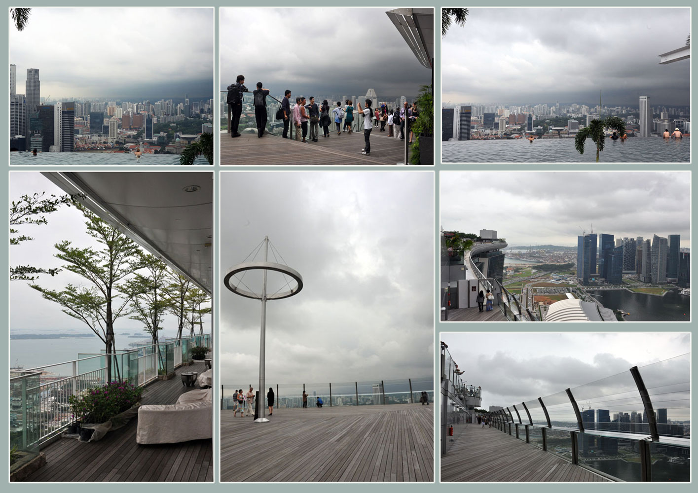 our life in Singapore: the Marina Bay Sands SkyPark
