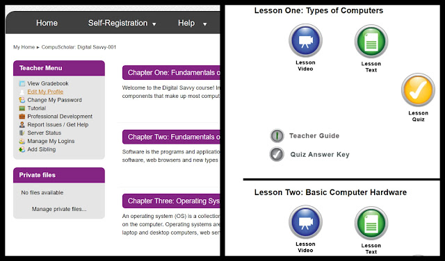Review of CompuScholar, Inc. Digital Savvy Online Cou