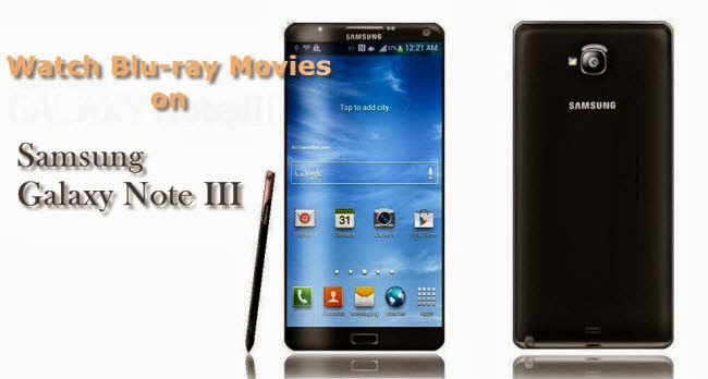 watch blu-ray on galaxy tab 3