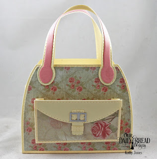 Our Daily Bread Designs Custom Dies: Timeless Tote, Tote Layers, Paper Collection: Shabby Rose
