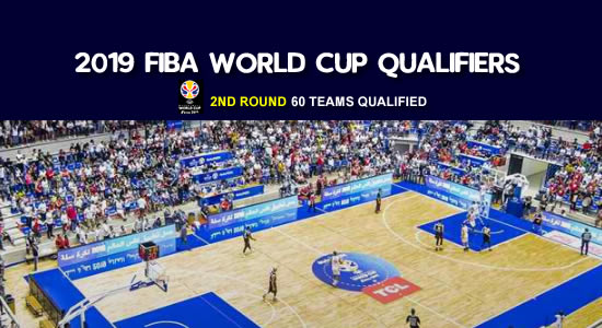LOOK: List of 60 Teams Qualified for the Second Round of FIBA Basketball World Cup 2019 Qualifiers