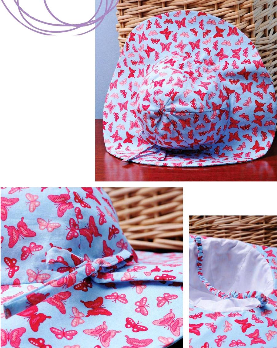 Summer women's hat