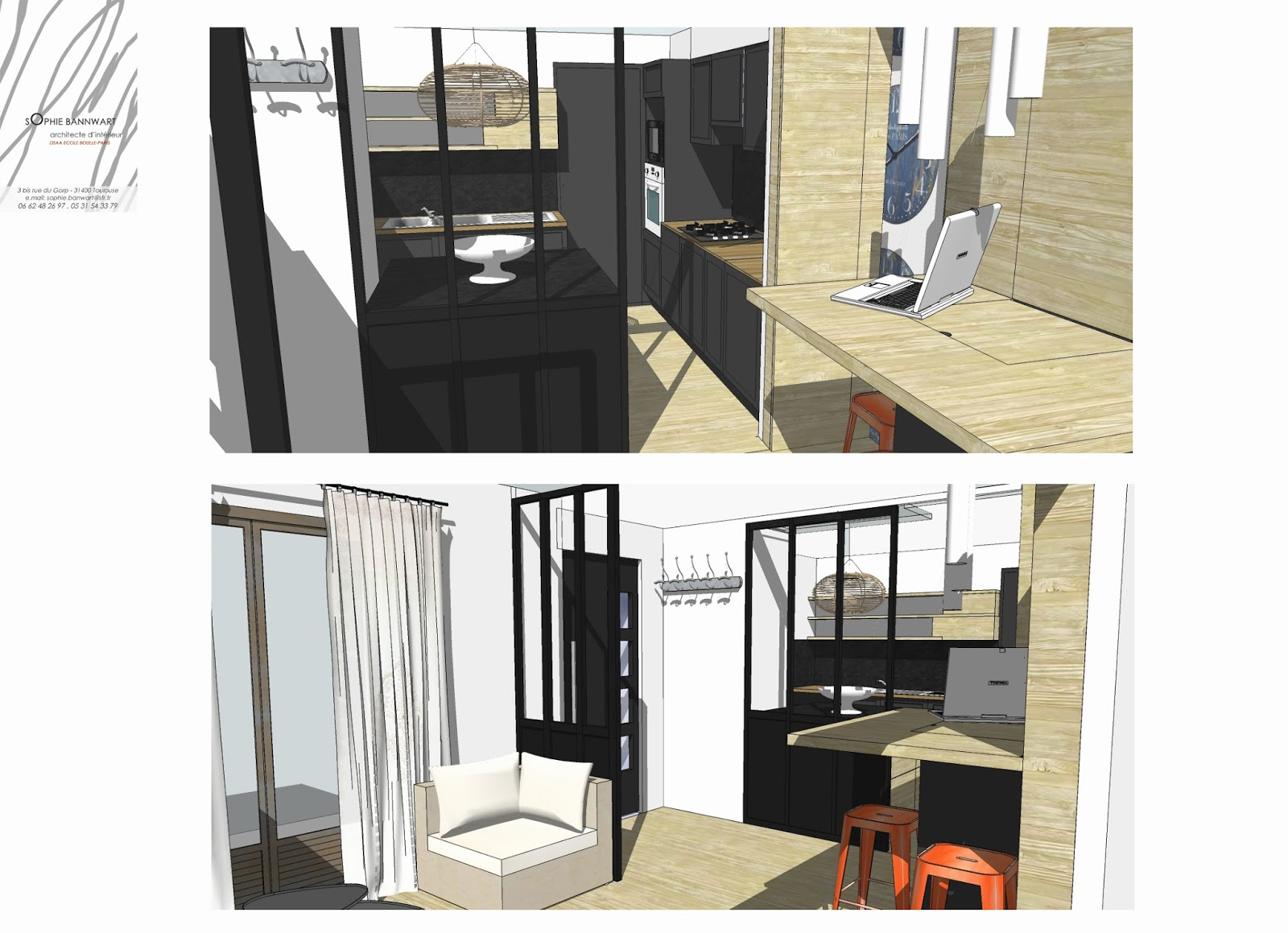 Sas D Entrée Interieur sophie bannwart - architecte d'intérieur