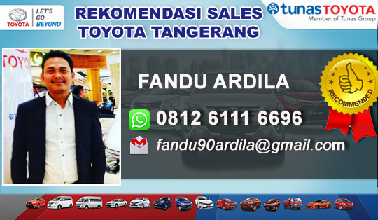 Rekomendasi Sales Toyota BSD Serpong