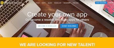 Website Untuk Membuat Aplikasi Tanpa Harus Koding 1