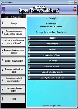 Download - Curso - Suporte Técnico No Windows 7