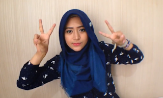 Hijab Tutorial Paris Segi Empat