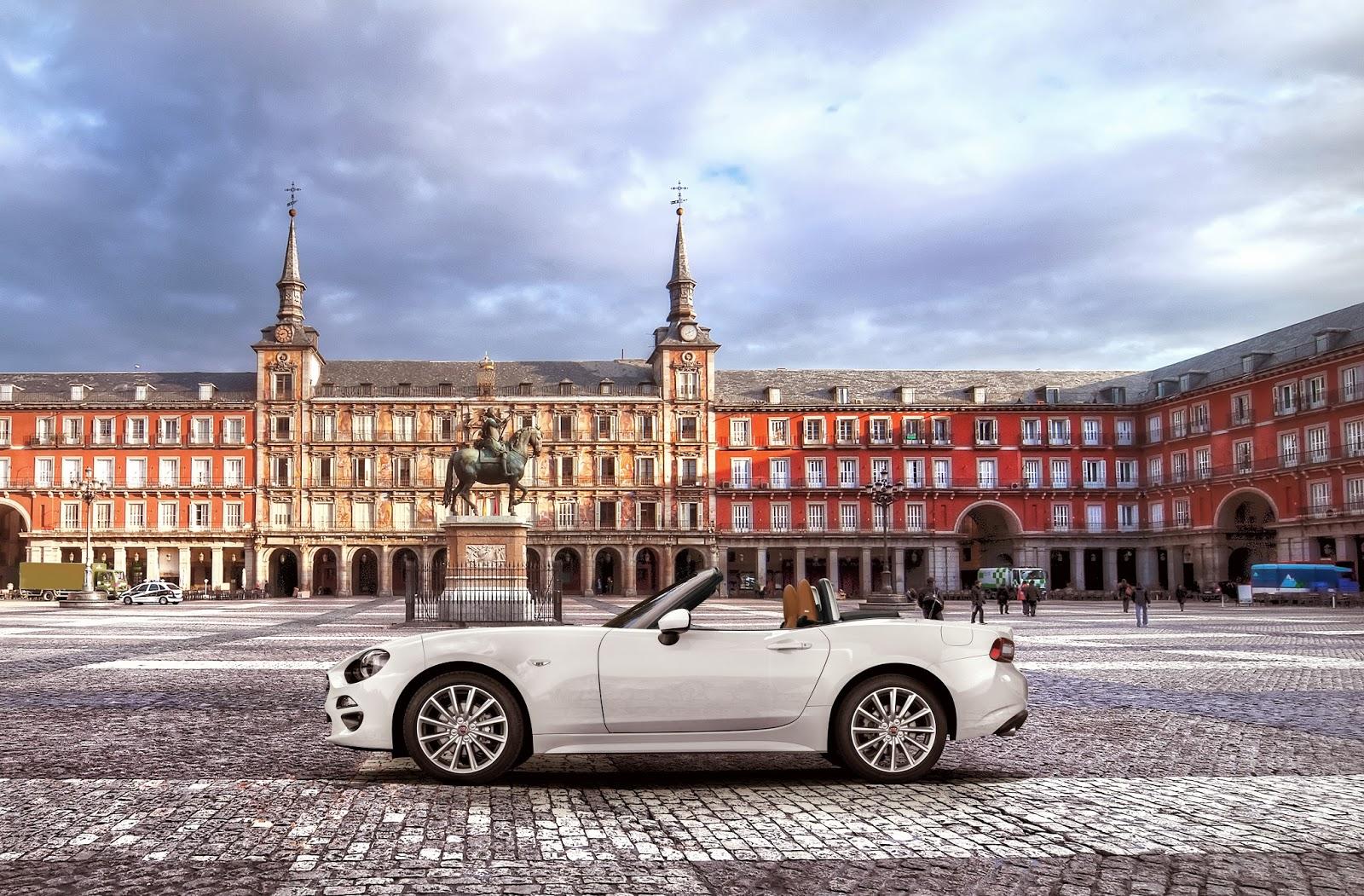 MADRID capotte%2Baperta Το Fiat 124 Spider άρχισε τις εξορμήσεις