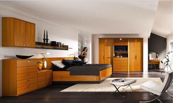 Kamar tidur longgar nyaman