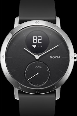 Nokia Smartwatch Capable of Monitoring Heart Rate, Receive Calls & Texts
