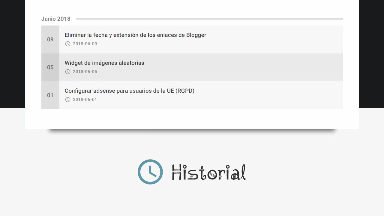widget para mostrar entradas por etiquetas