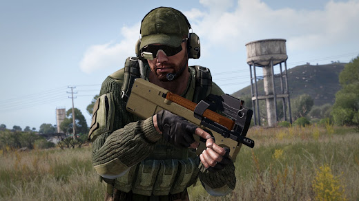 Arma3公式のADR-97 Weapon Pack MOD