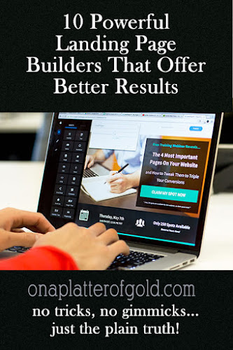 landing page builders to use right now