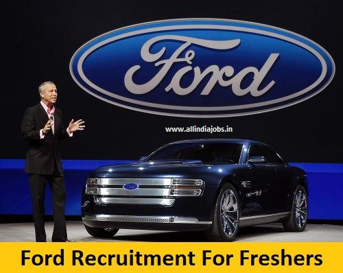 Ford Recruitment 2018 2019 Job Openings For Freshers Freshers