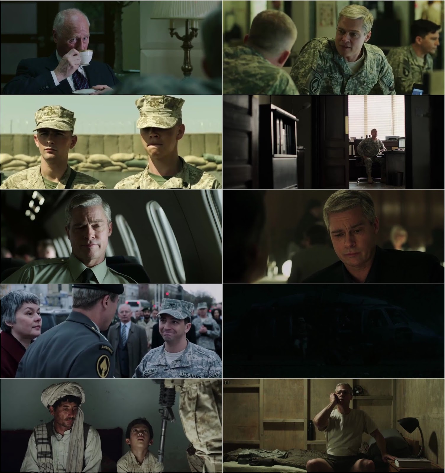 War Machine Movie Screenshot