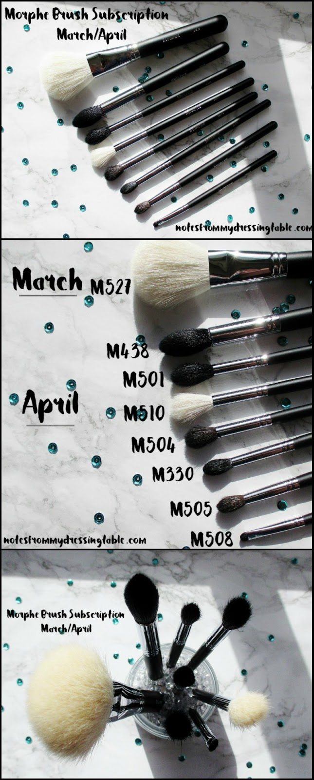 Morphe Brush Subscription March/April