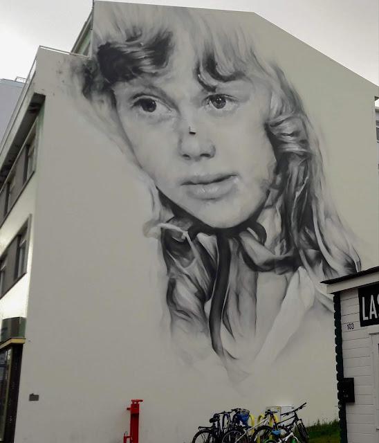 Public Art in Akureyri Iceland