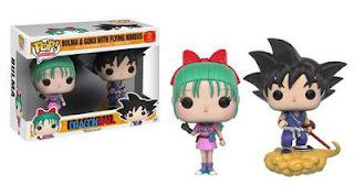 Funko Pop! Pack Bulma y Goku BAM!