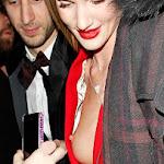 Descuido De La Modelo Rosie Huntington En Los British Fashion Awards 2013. Foto 2