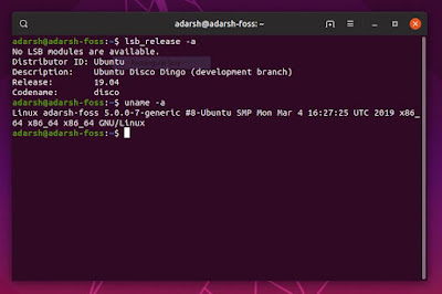 Cara Upgrade Ubuntu 18.10 ke 19.04