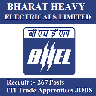 Bharat Heavy Electricals Limited, BHEL, Uttarakhand, UK, Trade Apprentice, 10th, ITI, freejobalert, Sarkari Naukri, Latest Jobs, bhel logo
