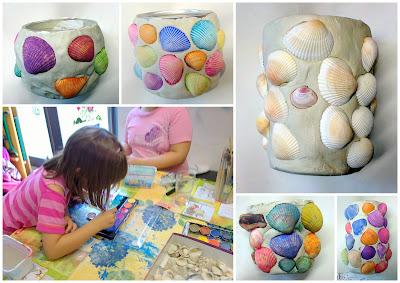 crafts by mirka basteln im kinderpavillon 4. Black Bedroom Furniture Sets. Home Design Ideas