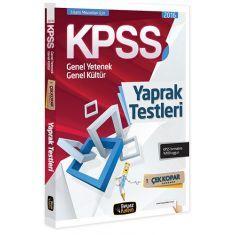BeyazKalem KPSS Lisans Yaprak Testleri (2016)