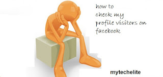 how to check profile visitors on facebook