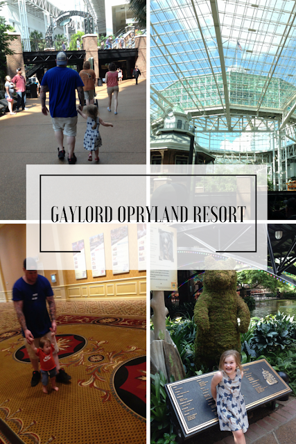 Nasvhille Trip with Kiddos - Gaylord Opryland Resort