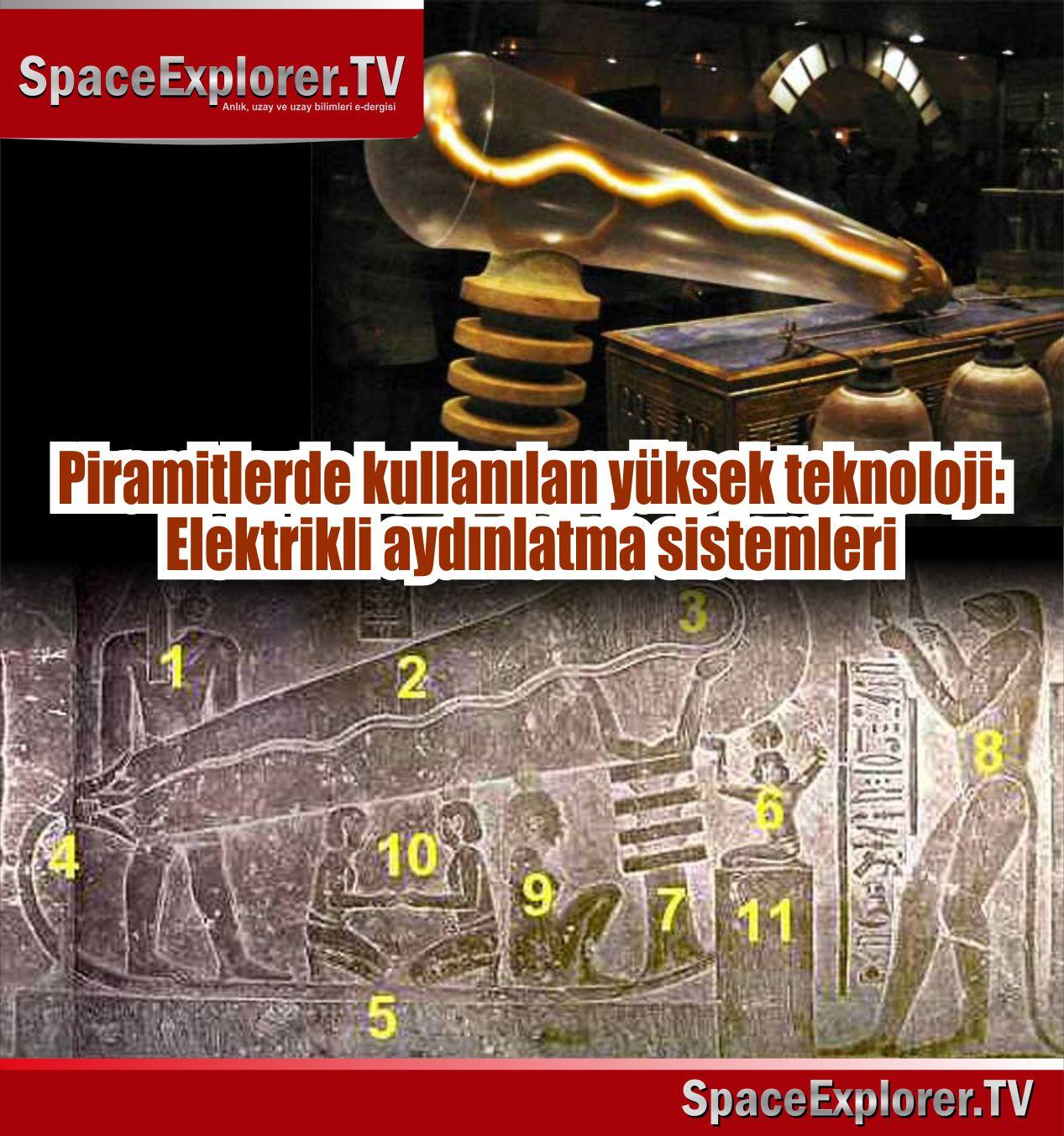Geçmiş teknoloji devirleri, Süleyman aleyhisselam, Vezir Asaf, Piramitler, Antik Mısır, Mısır, Adem aleyhisselamdan öncesi, Space Explorer,