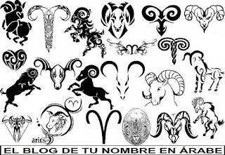 El horosopo de Aries en blanco y negro