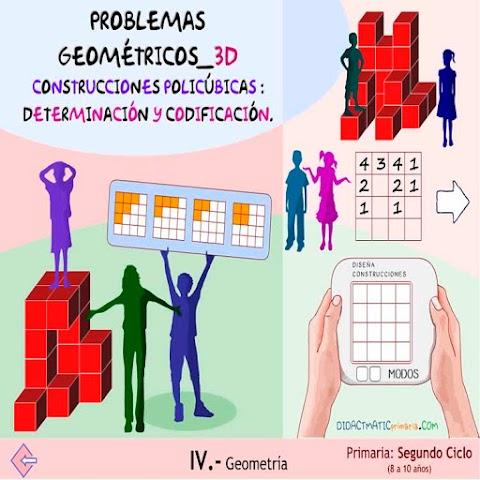 PROBLEMAS GEOMÉTRICOS 3D: Construcciones Policúbicas