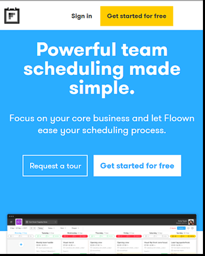 Streamline your planning process with Floown