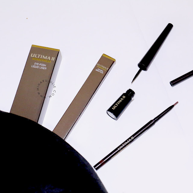 REVIEW ULTIMA II WONDERWEAR EYE-POSH LIQUID LINER