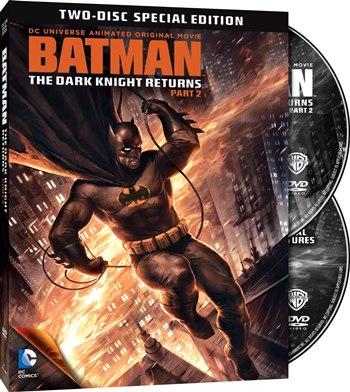 Batman El Regreso del Caballero Oscuro Parte 2 DVDR NTSC Español Latino