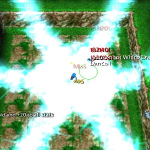 Jyukenho White dragon dance hinata defend konoha