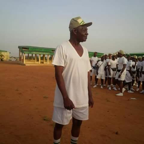Check out this granny spotted at NYSC orientation camp